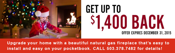 High Efficiency Fireplace Promotion