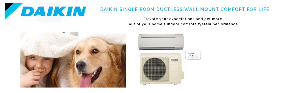 Daikin Single Zone Ductless